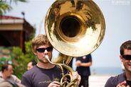 Brassballett Mobil = MEN IN BLECH
